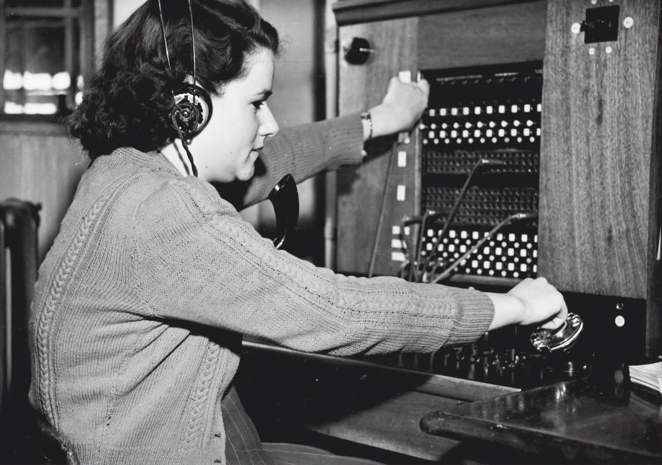 Old version of a contact center